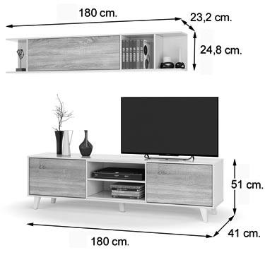 medidas del salón